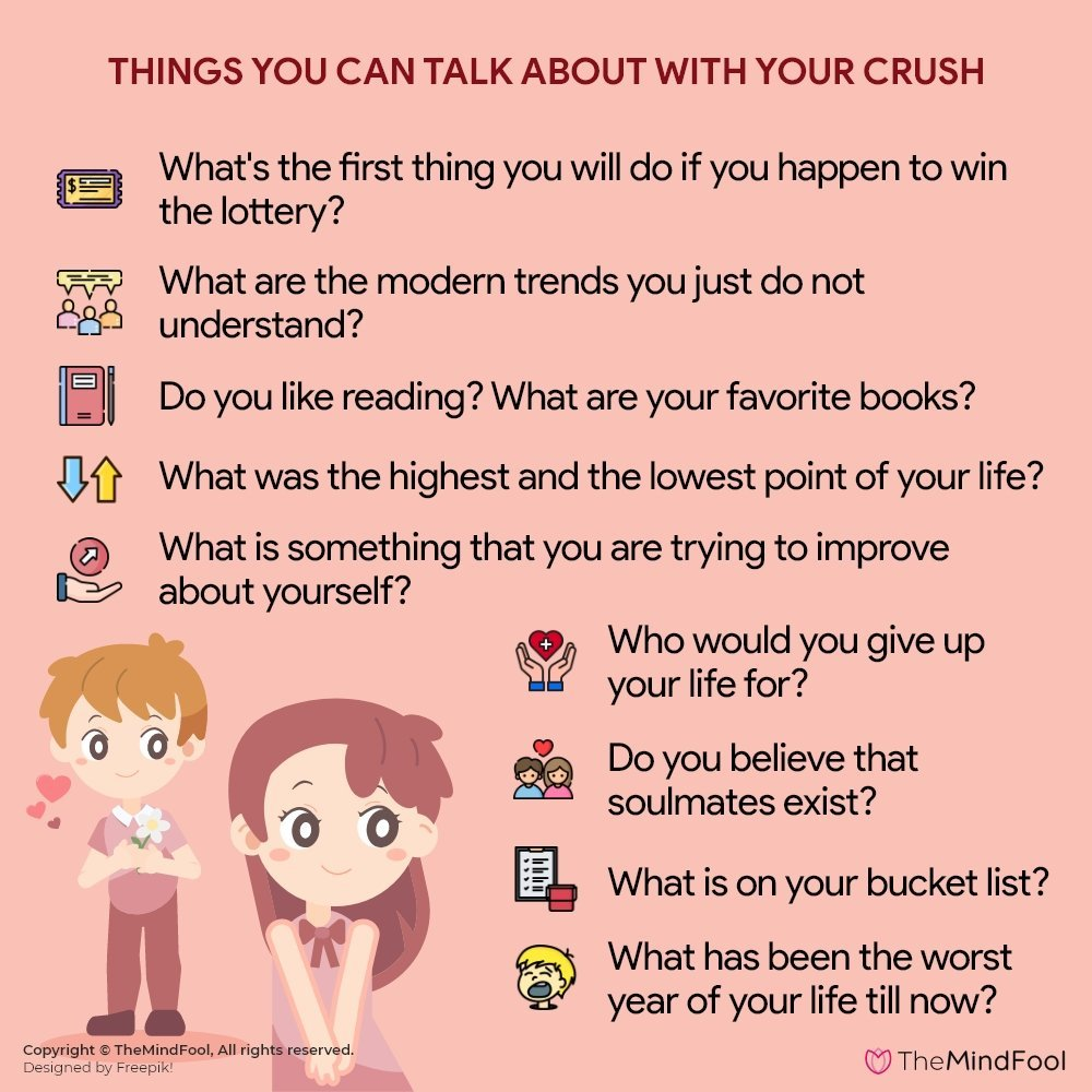 100 Things to Talk About with Your Crush!