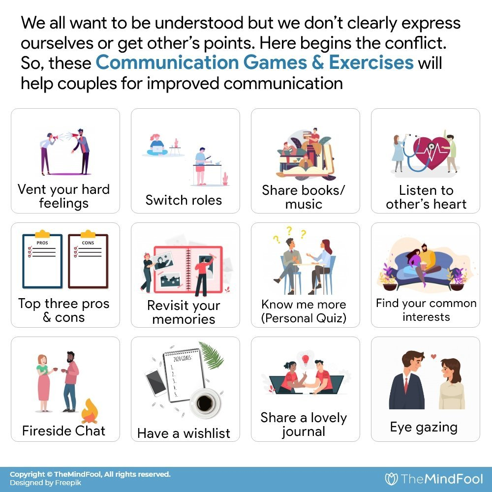 15 Communication Exercises for Couples To Adopt