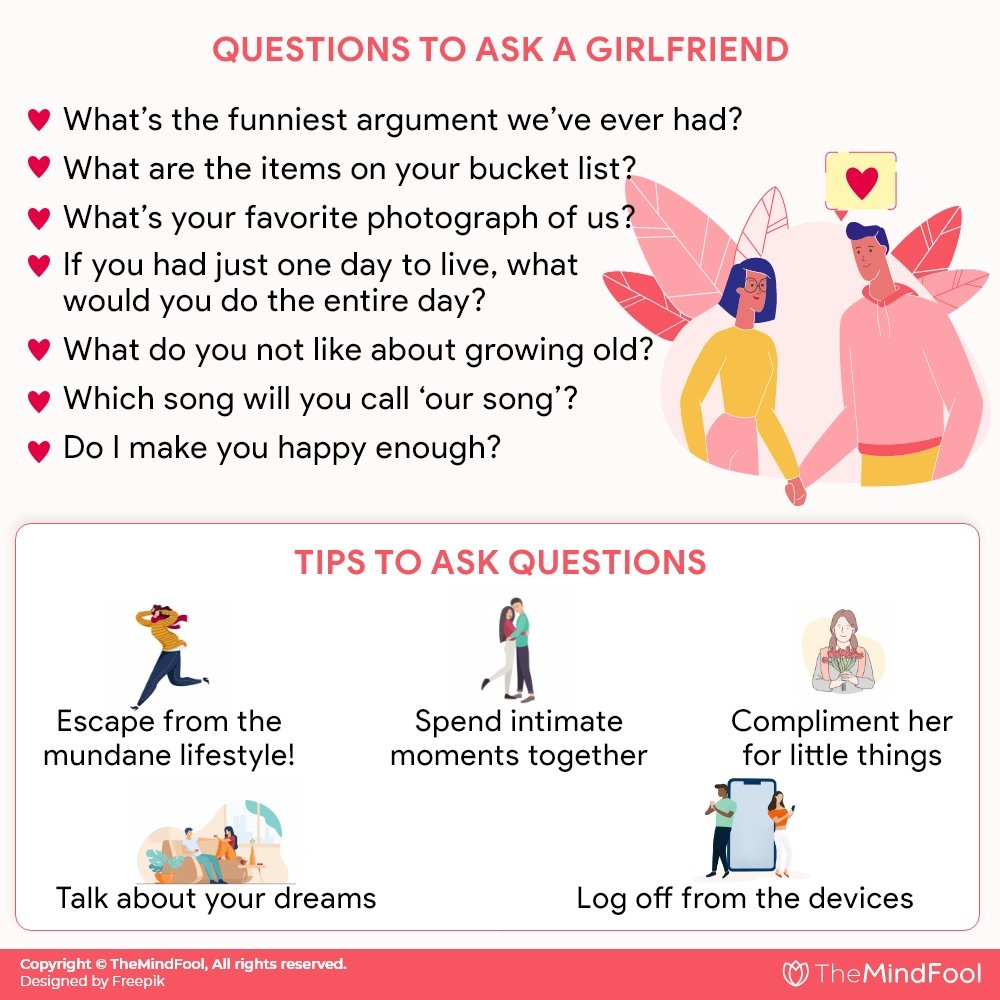300 Questions To Ask Your Girlfriend – The Only List You Will Ever Need