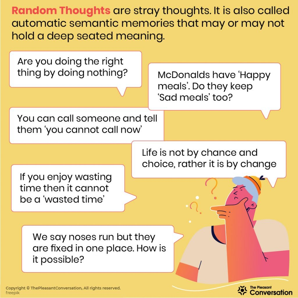 220 Random Thoughts to Ponder