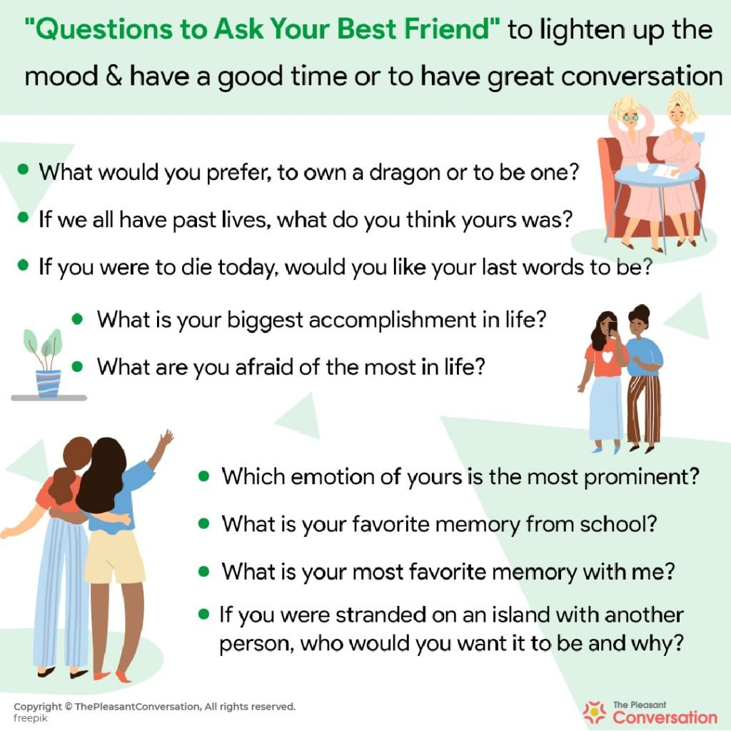 600+ Questions to ask your friends – Only list you'll ever need!